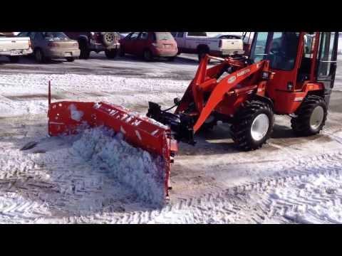 Metal Pless Rubbermaxx snow plow