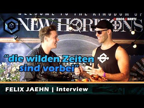 Minuten vor seinem Gig | FELIX JAEHN Interview | New Horizons Festival