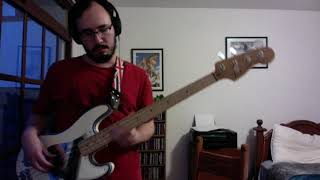 Santana - Incident at Neshabur - Bass Cover