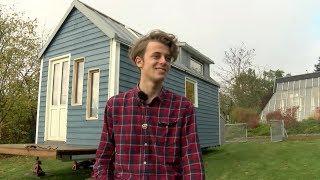 "Umweltbewusstes Wohnen: 18-jähriger Aus Hitzacker Baut Ein ""tiny House"""