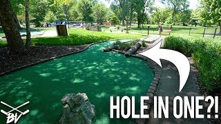 DOES THIS GUARANTEE A MINI GOLF HOLE IN ONE?!?