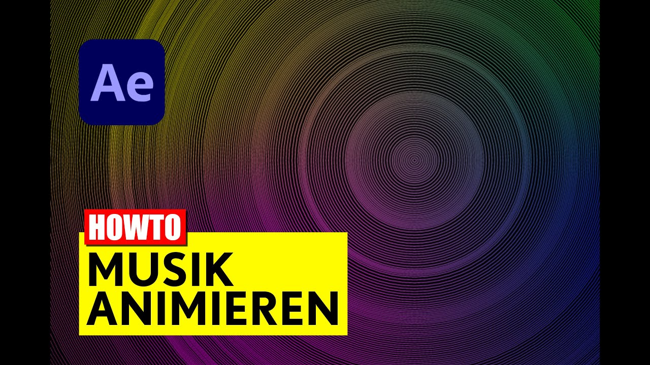 After Effects: Audio Spectrum - Radiowellen - Tutorial - deutsch