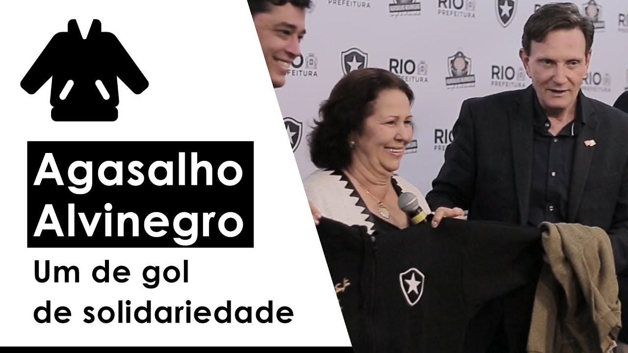 Prefeitura e Botafogo lançam campanha de doação de agasalhos e cobertores 14959b853d41f