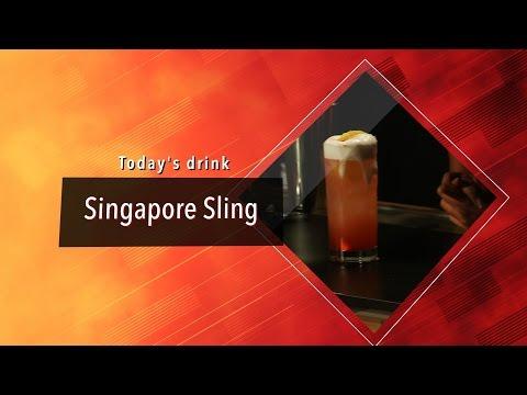 Marcela On The Rocks - Singapore Sling