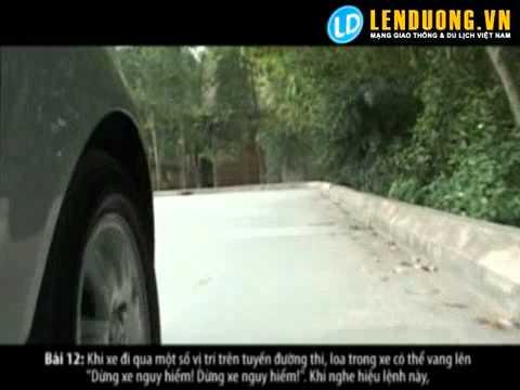 Học lái xe: Bài thi sát hạch Dừng khẩn cấp (bài 12)