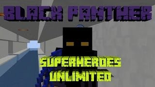 MINECRAFT | REVIEW DEL MOD SUPERHEROES UNLIMITED ~ BLACK PANTHER!!!