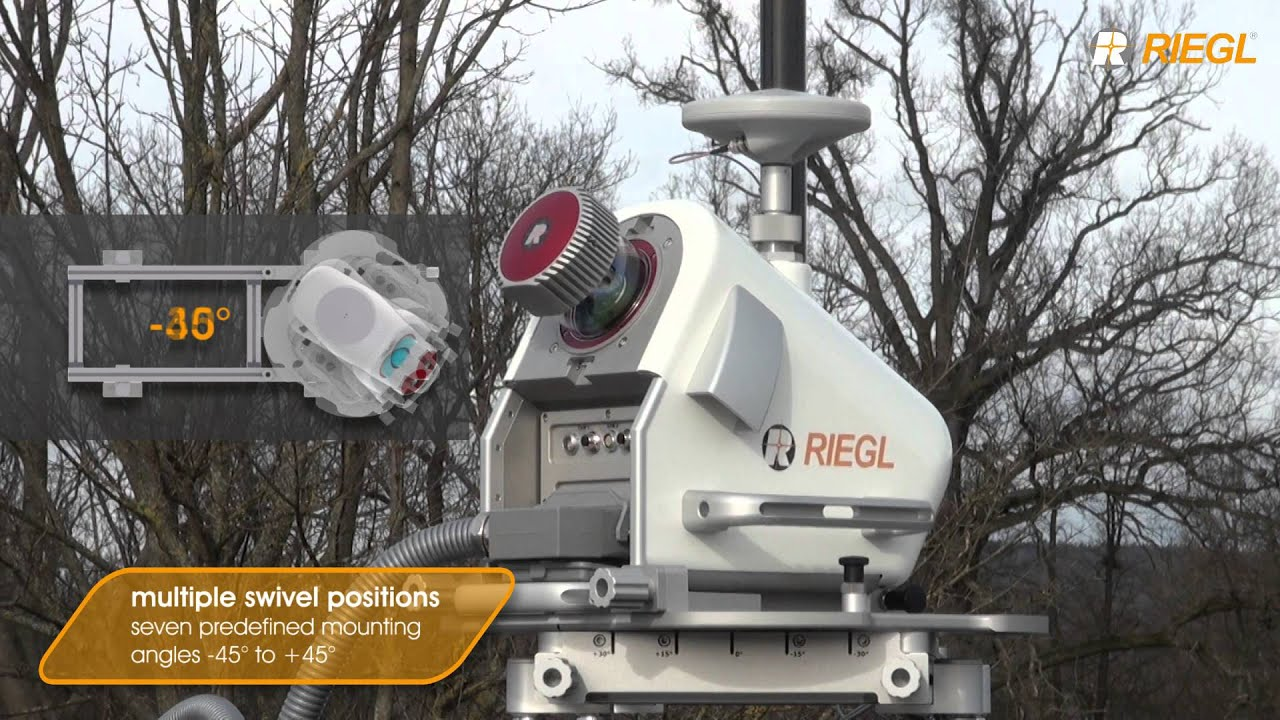 The NEW RIEGL VMQ-1HA High Speed Single Scanner Mobile