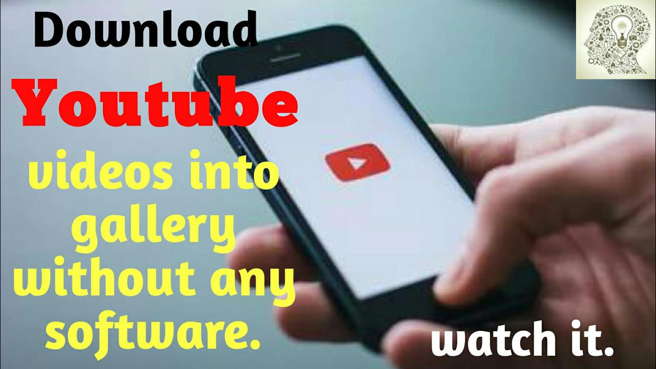 How to Save YouTube videos into gallery without any app or