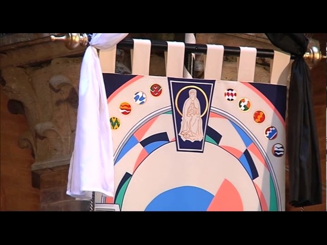 Presentazione del Drappellone - Palio 16 agosto 2017