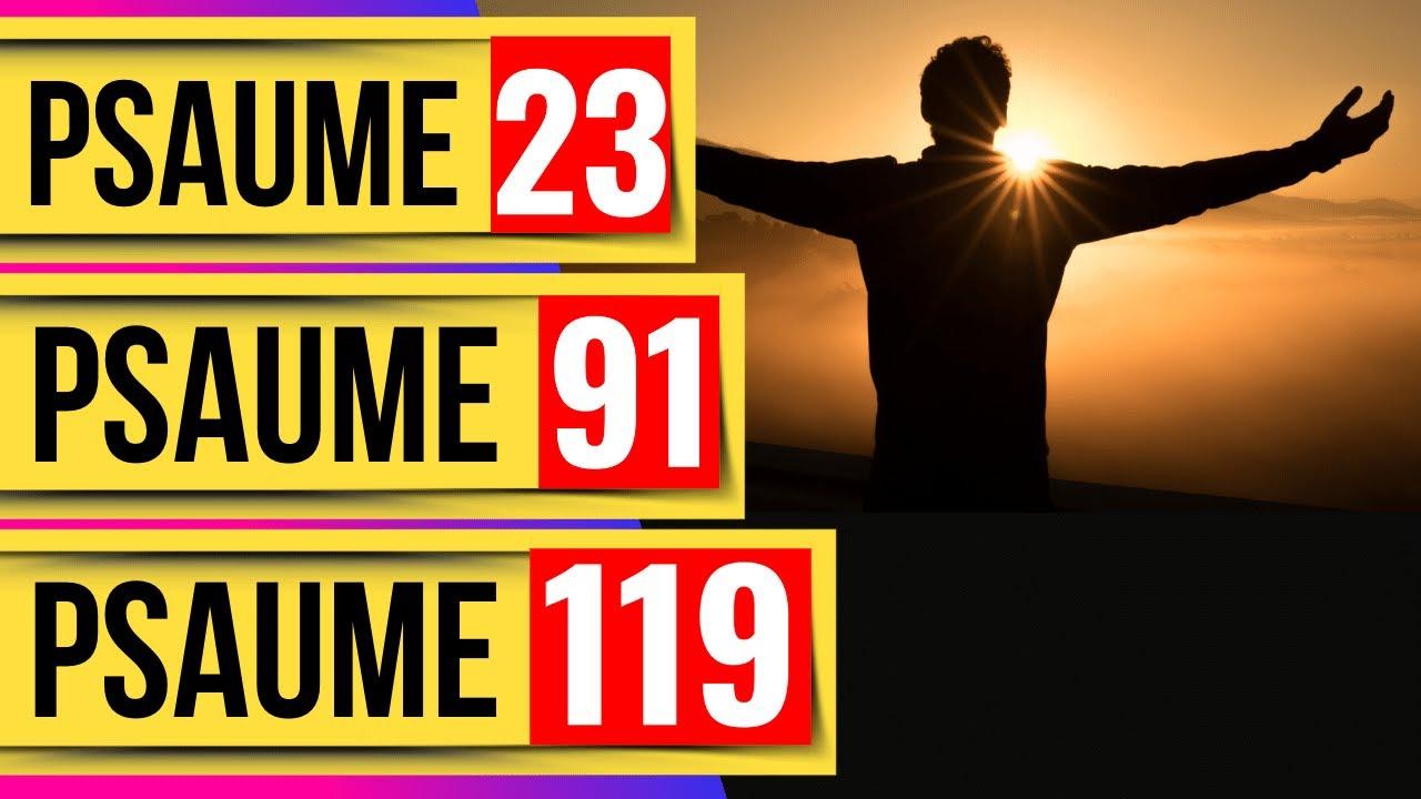Psaume 23, Psaume 91, Psaume 119 (Les psaumes puissants)(versets bibliques pour dormir)
