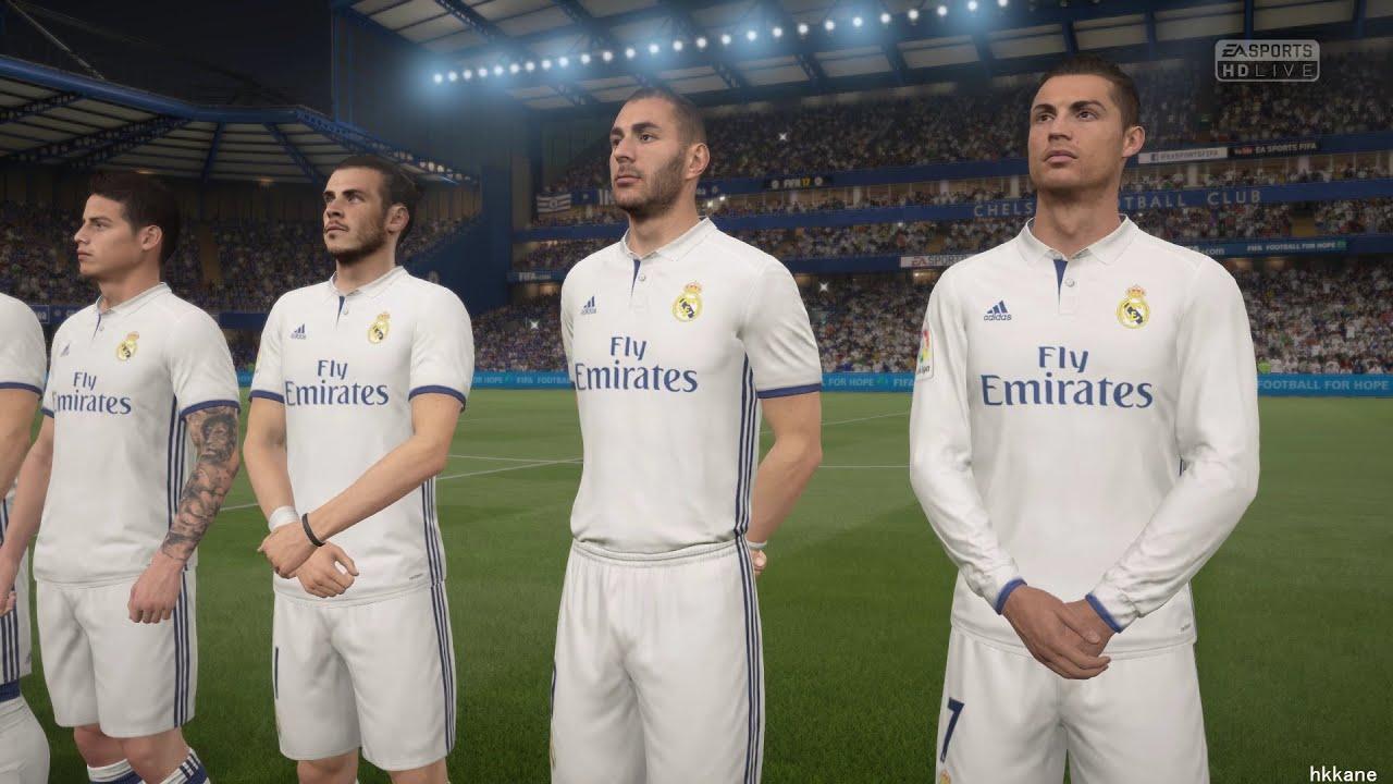 Fifa  Pc Demo Real Madrid Vs Chelsea