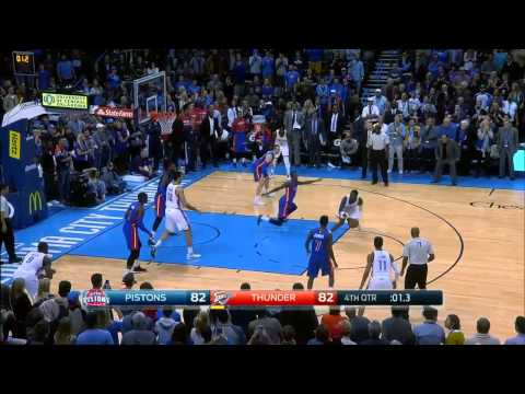 Detroit Pistons vs Oklahoma City Thunder | November 14, 2014 | NBA 2014-15 Season