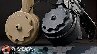 Auto Winding Drum Magazine: G&P Attack Type Mag – RedWolf Airsoft RWTV