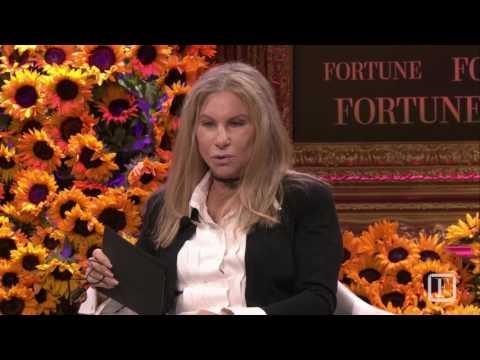 One on One: Barbra Streisand   Fortune Most Powerful Women