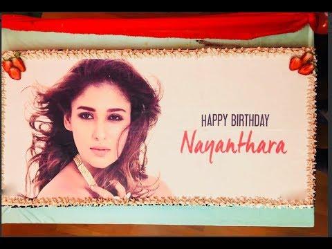 Nayanathara Celebrates Birthday With Her Her Boyfriend In A Grand
