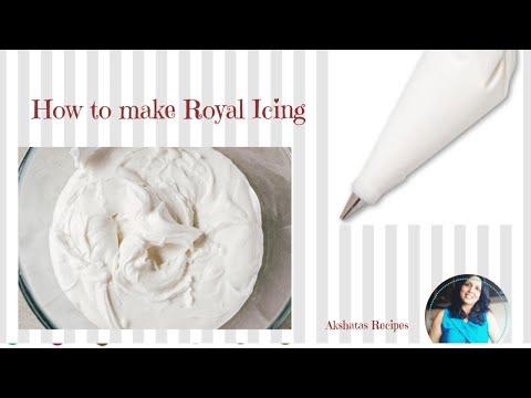 ROYAL ICING RECIPE।ONLY 3 INGREDIENTS। Akshatas Recipes|Episode 270