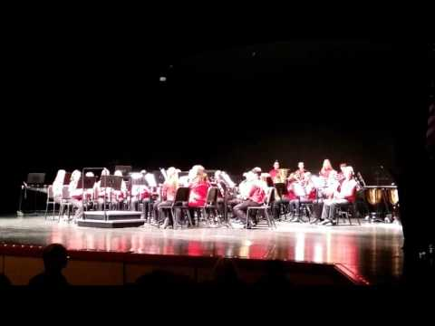 Whitehall Middle School 7th grade band - I'm A Believer