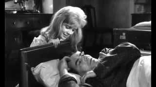 """Escena de la película """"Lolita"""" dirigida por  Kubrick (1962)."""