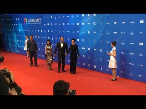 Celebrities Shine at Beijing International Film Festival