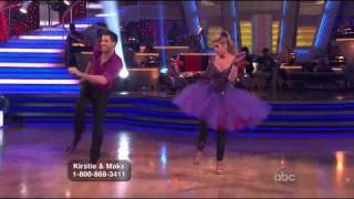 Kirstie Alley and Maksim Chmerkovskiy Dancing with the Stars Jive