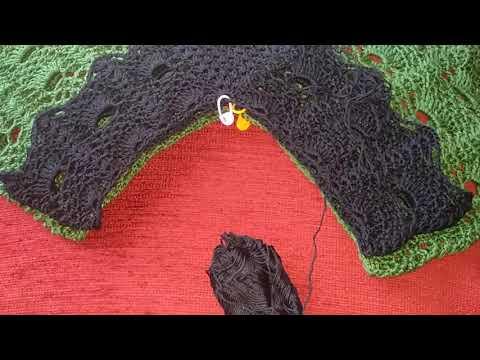 Самое простое и красивое вязание крючком для туники