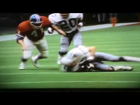 Super Bowl XII Highlights: Dallas Cowboys vs. Denver Broncos (1978)