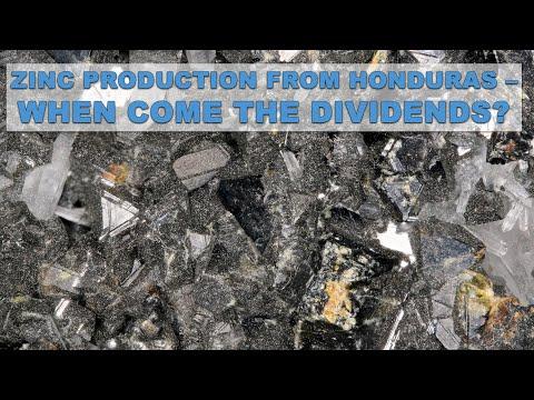 Successful Zinc Production In Honduras