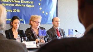 La misión de Observación UE recomienda a Paraguay avanzar en reforma electoral