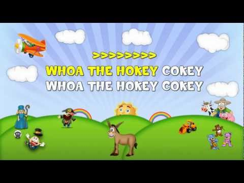 The Hokey Cokey Sing 2 Me Nursery Rhyme Karaoke