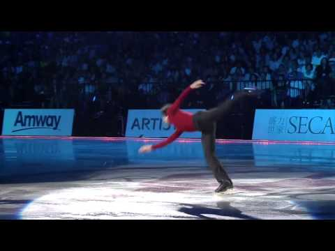 "Stéphane Lambiel 2014 0803 EX ""The water"" Artistry on Ice in Taipei [HD]"