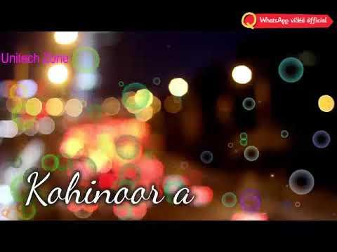 Tere Saath Saath Aisa Koi Noor Aaya Hai. Romantic status by WhatsApp video official