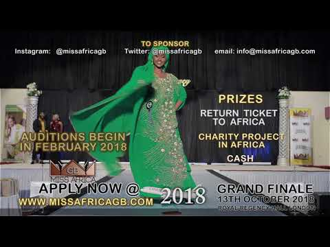 APPLY FOR MISS AFRICA GB 2018