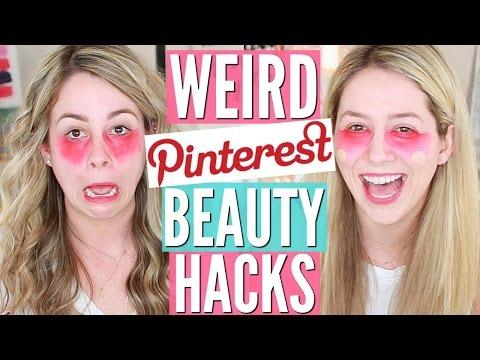 5 Pinterest Beauty Hacks TESTED   Hack or Wack