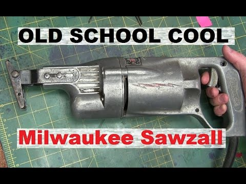 BOLTR: Old School Milwaukee Sawzall