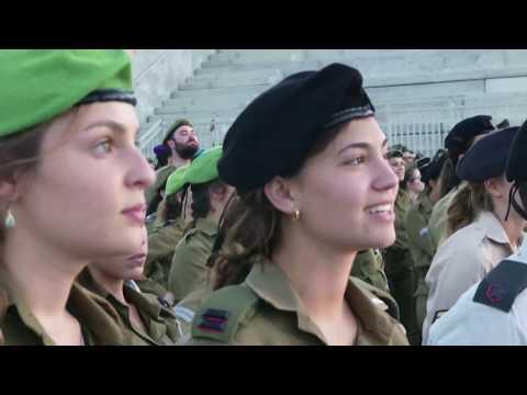 Camp Ariel Sharon | Military Base Construction | IDF Israel Defense Forces training instructors