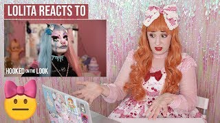 Lolita reacts to HOOKED ON THE LOOK | I'm a Pastel Goth