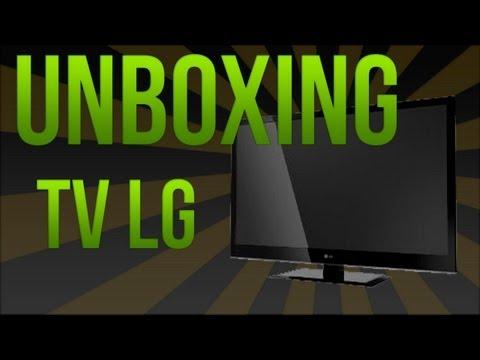"""#Unboxing - TV LG LED LCD 32"""" """"LS34"""""""