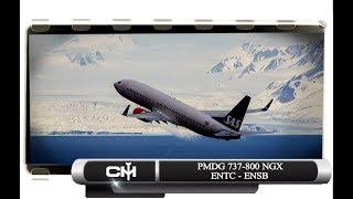 [P3D V4.1] PMDG 737 NGX | DoTM | ENTC to ENSB