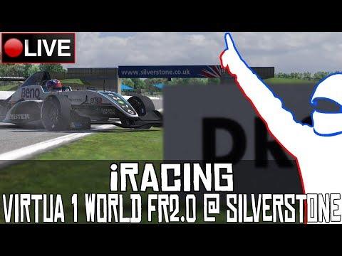 iRacing || @Virtua1world Formula Renault 2.0  (Ronda 1/4: Silverstone) || LIVE