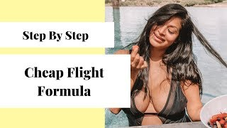 How To Find The Cheapest Flights!