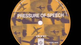 Pressure Of Speech ‎– Elone (Remix By Vapour Space)