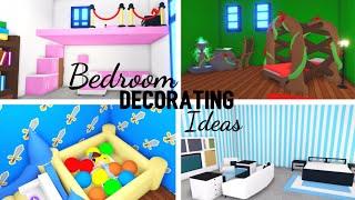 4 Custom BEDROOM Design Ideas & Building Hacks (Roblox Adopt me)   Its SugarCoffee