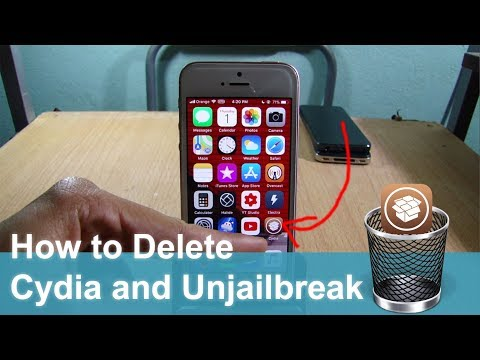 How to Delete Cydia and Electra Jailbreak on iOS 11 - 11.4.1