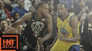 Golden State Warriors vs Milwaukee Bucks Full Game Highlights / March 29 / 2017-18 NBA Season