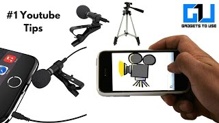 Cheapest Video Setup, Camera, Mic, Mount and Tripod For Youtubers | Gadgets To Use