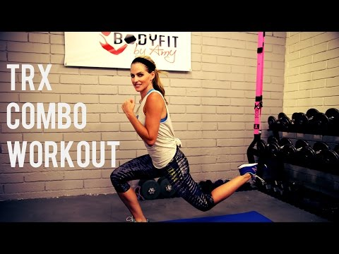 25 Minute TRX Combo Workout for Strength and Cardio