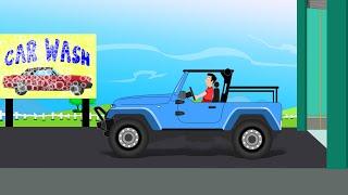 jeep autómosó | videók gyerekeknek