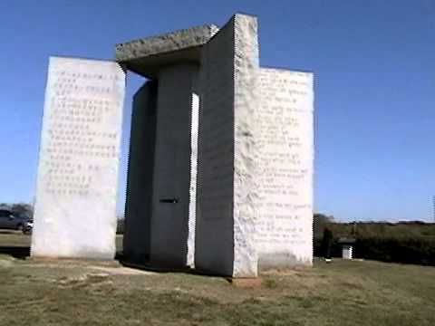 Georgia Guides Stones or American Stonehenge