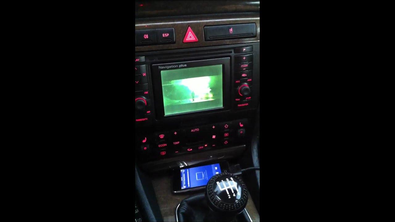 Rns D B5 Audi S4 Youtube
