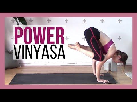 Intermediate Yoga Class - Power Vinyasa Flow Yoga